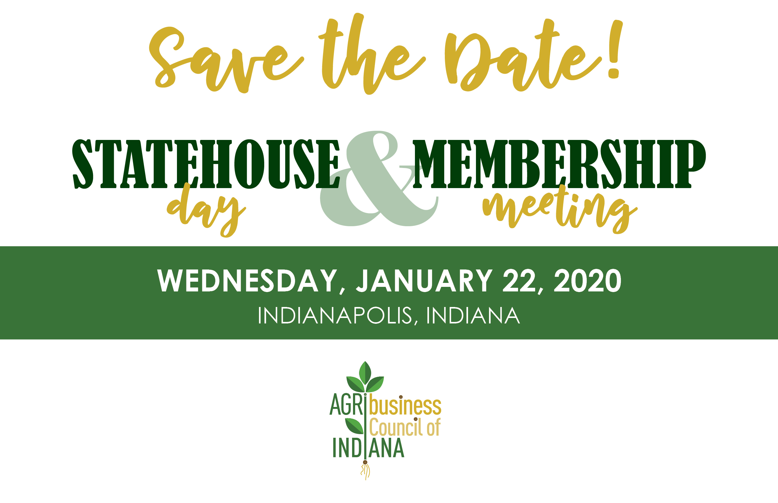 Statehouse Day Save the Date